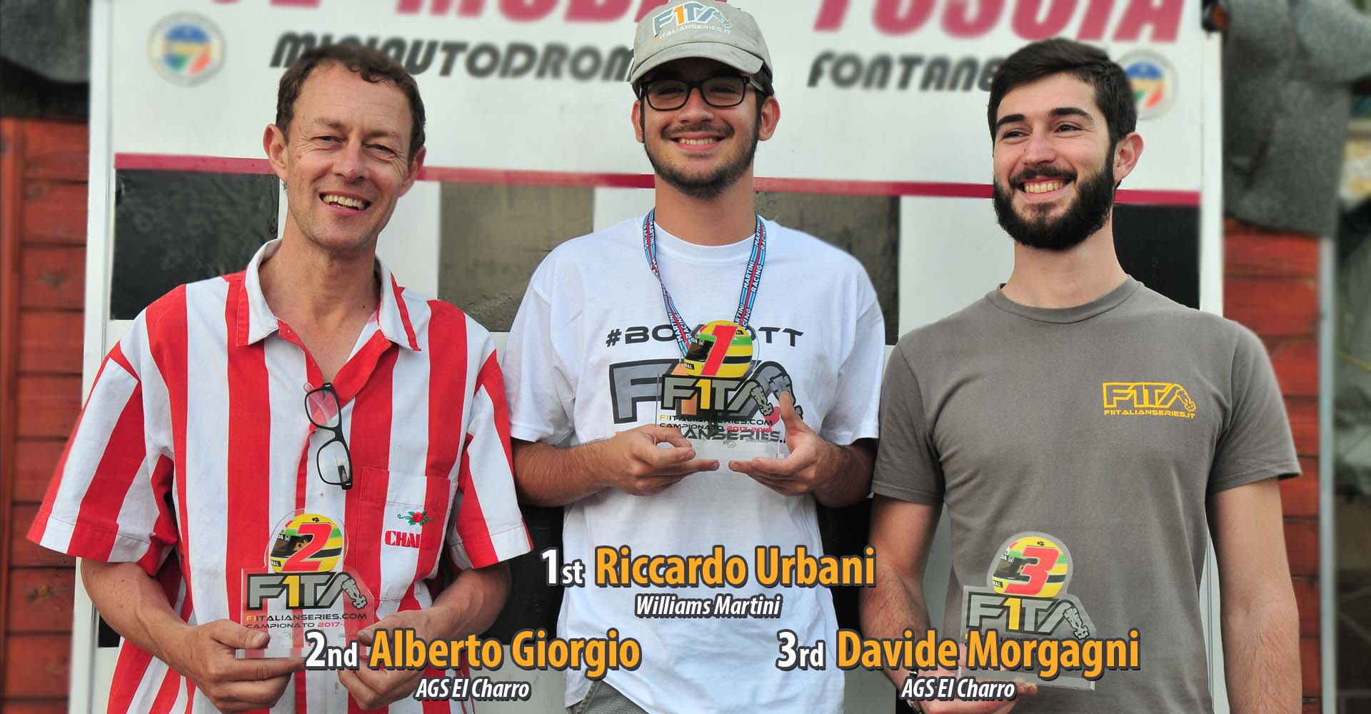 Winner Drivers F1ITA F1italianseries